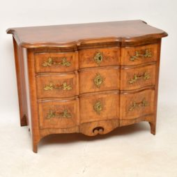 Antique Swedish Walnut Commode / Chest of Drawers