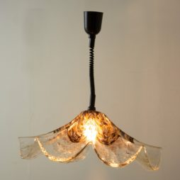 1970s Vistosi Italian Murano Glass Chandelier