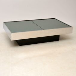 1970's Italian Vintage Coffee Table by Willy Rizzo