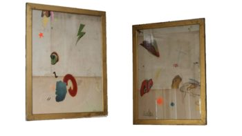 Tarifa Abstract Collages by Artist Huw Griffith