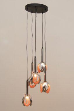 1960s Dutch Cascading Raak Hanging Light