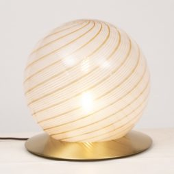 Italian Murano Glass Globe by Massimo and Lella Vignelli for Venini