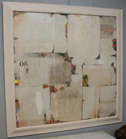 Remnants VI Abstract Collage by Huw Griffith