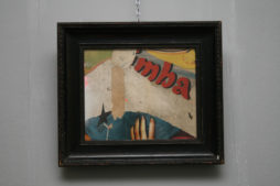 Madame Sibyls Abstract Collage by Artist Huw Griffith