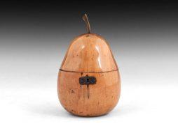 Pear Tea Caddy