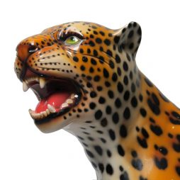 Italian Ceramic of a Cheetah