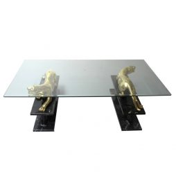 Panther Coffee Table - Maison Jansen