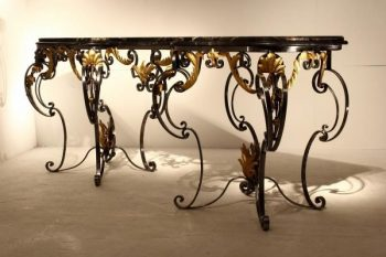Large Metal Console