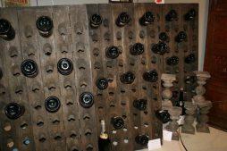 Oak Champagne Riddling Rack Bottle Holders from Reims France