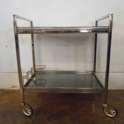 Vintage Drinks Trolley in the Modernist Style