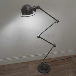 Original 1950s Vintage Jielde Floor Lamp