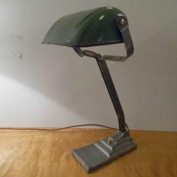 Vintage Industrial Desk Lamp by Erpe of Belgium Circa 1930
