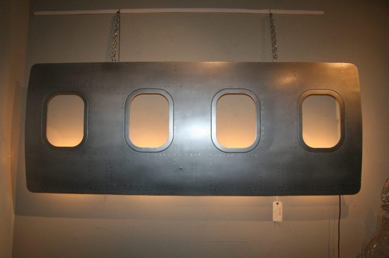 Vintage Dc 10 Aircraft Window Light Interior Boutiques