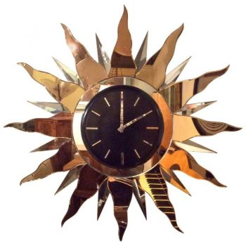 Impressive Large Art Deco Wall Clock