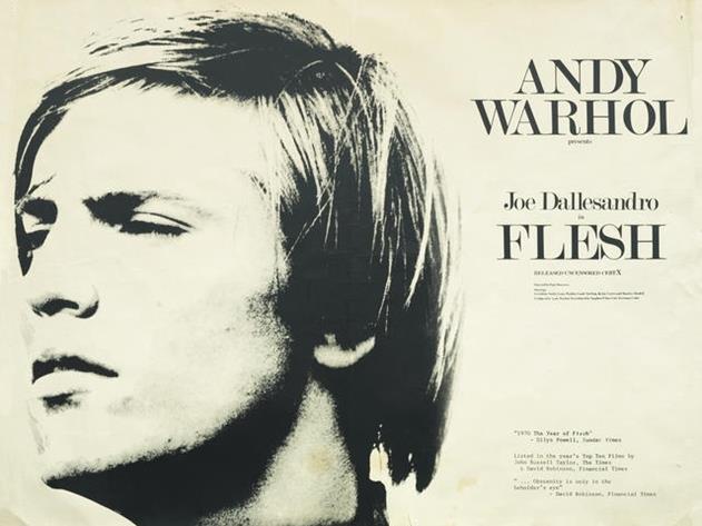 Andy Warhol Rare Original British Quad Movie Poster for ...