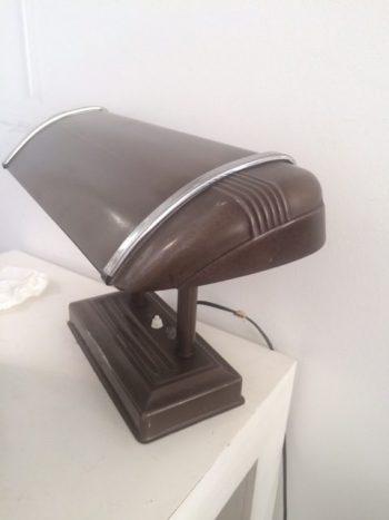 Industrial Metal Desk Lamp