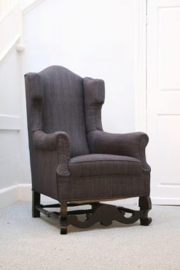 EARLY 20TH CENTURY WING ARMCHAIR