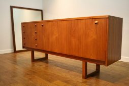 Dalescraft Early 1960s Teak Sideboard