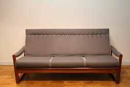 Guy Rogers 1960s Teak Virginia Sofa
