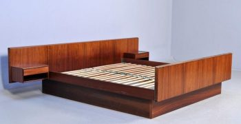 Danish Rosewood double bed