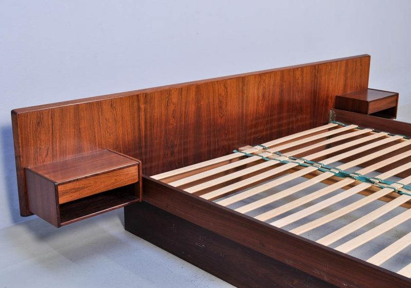Danish Rosewood Double Bed Interior Boutiques Antiques