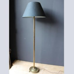 Mid 20th Century French  Reeded Lamp