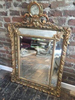 Antique 19th Century Marginal Mirror