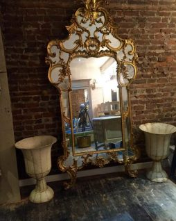Antique Italian Mirror from a Palazzo near Florence