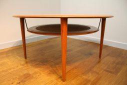 Peter Hvidt Teak Circular Coffee Table France and Son Denmark