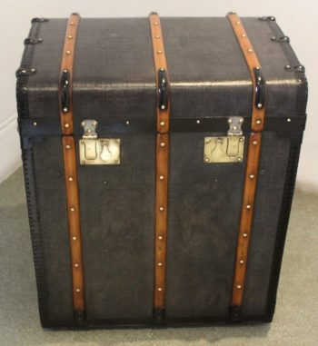 Antique Grey Tall Trunk by Berger-Stalder