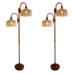1950s Wood Floor Light - POA