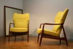 Pair of High Backed Dalescraft Armchairs