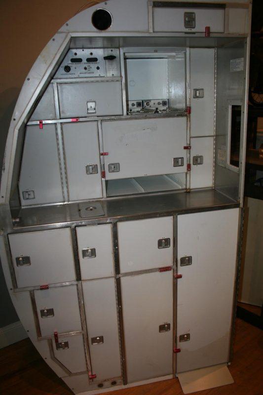 Vintage Aircraft Galley Kitchen Interior Boutiques