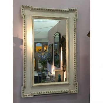 Pair Regency Antique Panel Architectural Mirrors