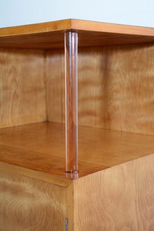Modernist Art Deco Sideboard Bar Cabinet Interior