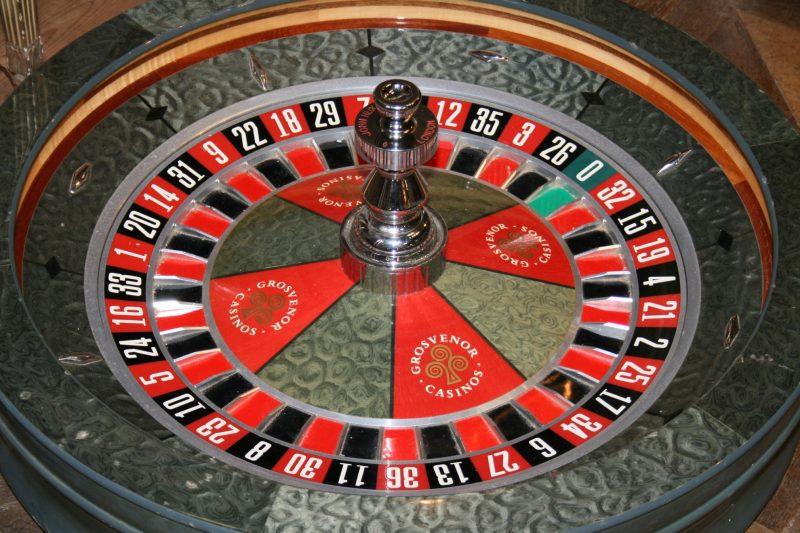 The Grosvenor Casino Roulette Wheel Interior Boutiques