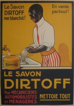 Antique Le Savon Dirtoff Advertising Poster