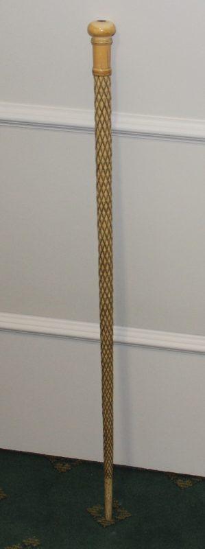 Antique Whalebone Walking Stick Interior Boutiques