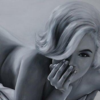 Original Di Capri Marilyn Monroe Oil Painting