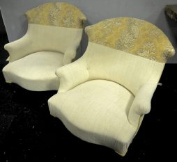 Pair of Antique Napolean III Armchairs