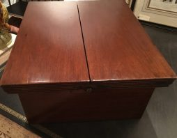 Antique Campaign Writing Box