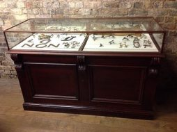 Mahogany Jewellery Display Counter - POA