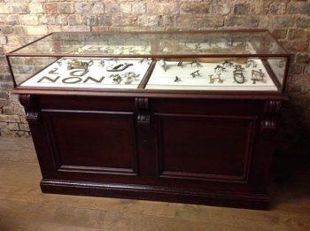 Mahogany Jewellery Display Counter - POA