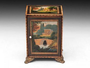 Early Tunbridge Antique Cabinet