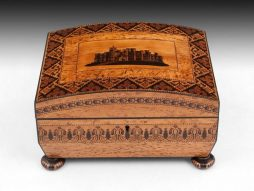 Antique Tunbridge Ware Sewing Box