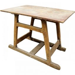 Vintage Artisans Work Table from France