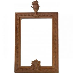 Early Antique Carved Picture Frame from France