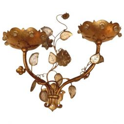 Small double sconce by Bagués of Paris