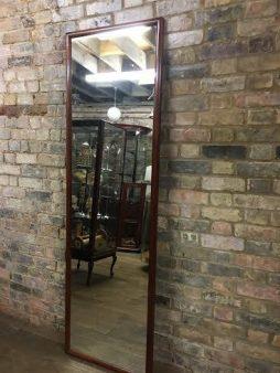 Bespoke Mahogany Framed Large Mirror