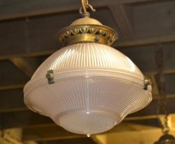 Vintage Hanging Ceiling White Glass 1980s Lamps - POA